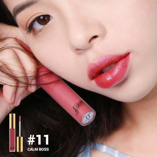 Son Bbia last velvet lip tint Version 3 Calm Boss 11 Đỏ Hồng Đất