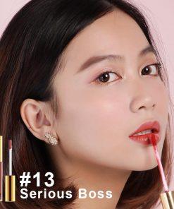 Son Bbia last velvet lip tint Version 3 Serious Boss 13 Cam Hồng Đất