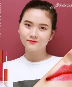Son Bbia last velvet lip tint Version 4 More Cheerful 18 Hồng baby