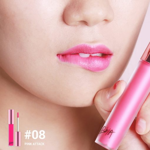 Son Kem Lì Bbia Last Velvet Lip Tint Version 2 Màu 08 Hồng cánh sen