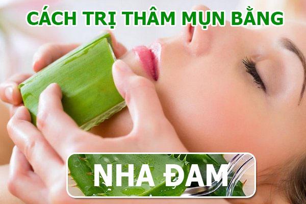 Cach tri tham mun bang nha dam