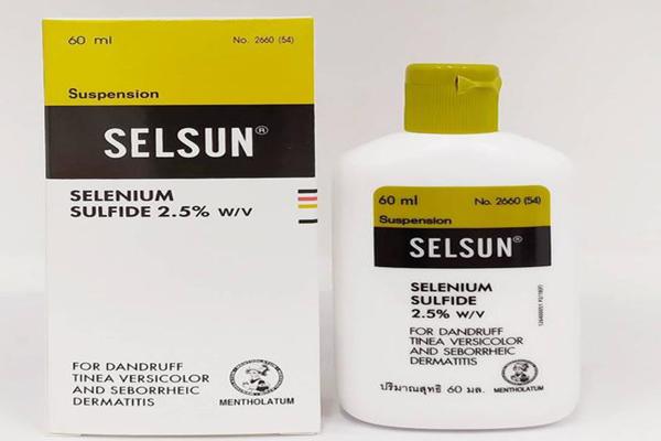 Dầu gội trị nấm da đầu Selsun