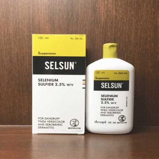 Dầu gội trị nấm da dầu Selsun Thái Lan