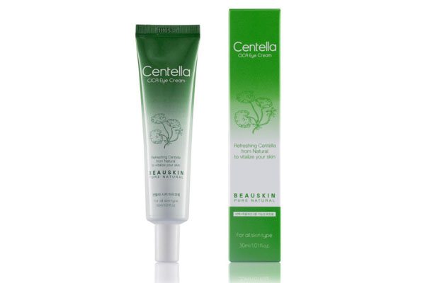 Kem giảm thâm quầng mắt giảm bọng mắt Beauskin Centella Cica Eye Cream Hàn quốc
