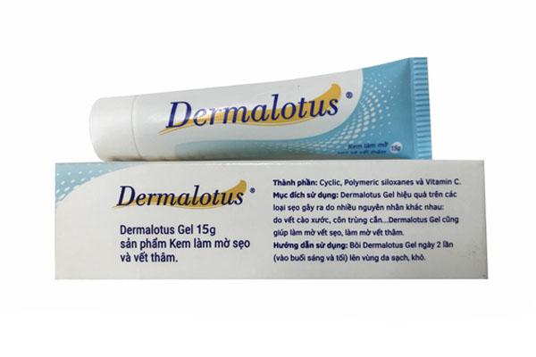 Kem làm mờ sẹo và vết thâm ở bụng DermaLotus