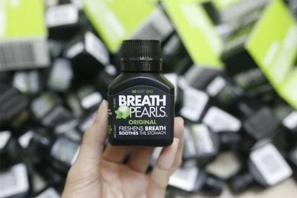 vien uong thom mieng Breath Pearls 1