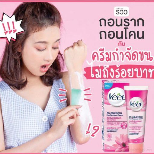 Kem tay long Veet 4