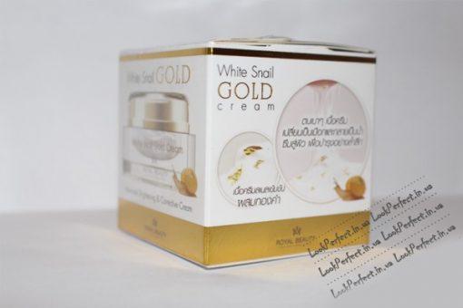 Kem oc sen White Snail GOLD 2