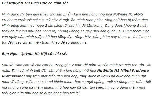 REVIEW Kem lam hong nhu hoa Nuwhite N1 co hieu qua khong 4 1598950080 391 width652height414