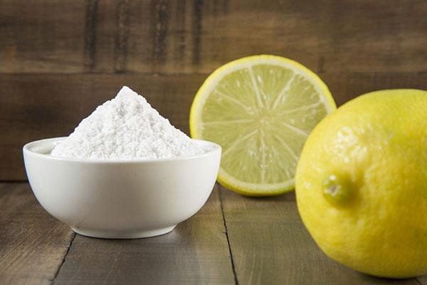 baking soda và chanh sẽ khiến cặp mông mịn màng và trắng sáng hơn